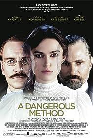 Viggo Mortensen, Keira Knightley, and Michael Fassbender in A Dangerous Method (2011)