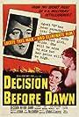 Dominique Blanchar, Hildegard Knef, and Oskar Werner in Decision Before Dawn (1951)
