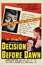 Decision Before Dawn (1951) Poster