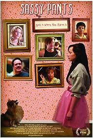 Haley Joel Osment, Diedrich Bader, Anna Gunn, Jenny O'Hara, and Ashley Rickards in Sassy Pants (2012)