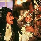 Dustin Hoffman and Bob Hoskins in Hook (1991)