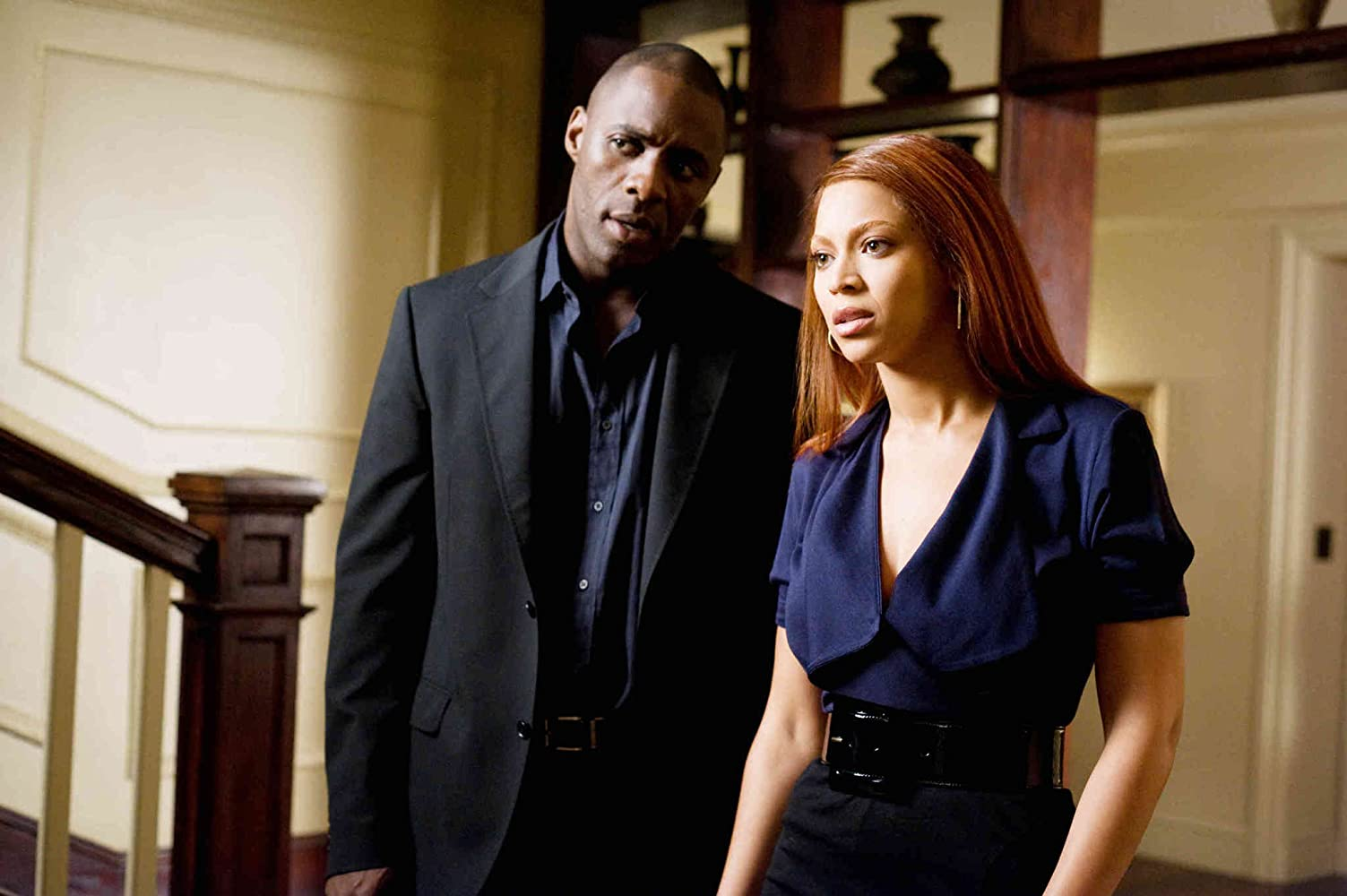 Idris Elba and Beyoncé in Obsessed (2009)