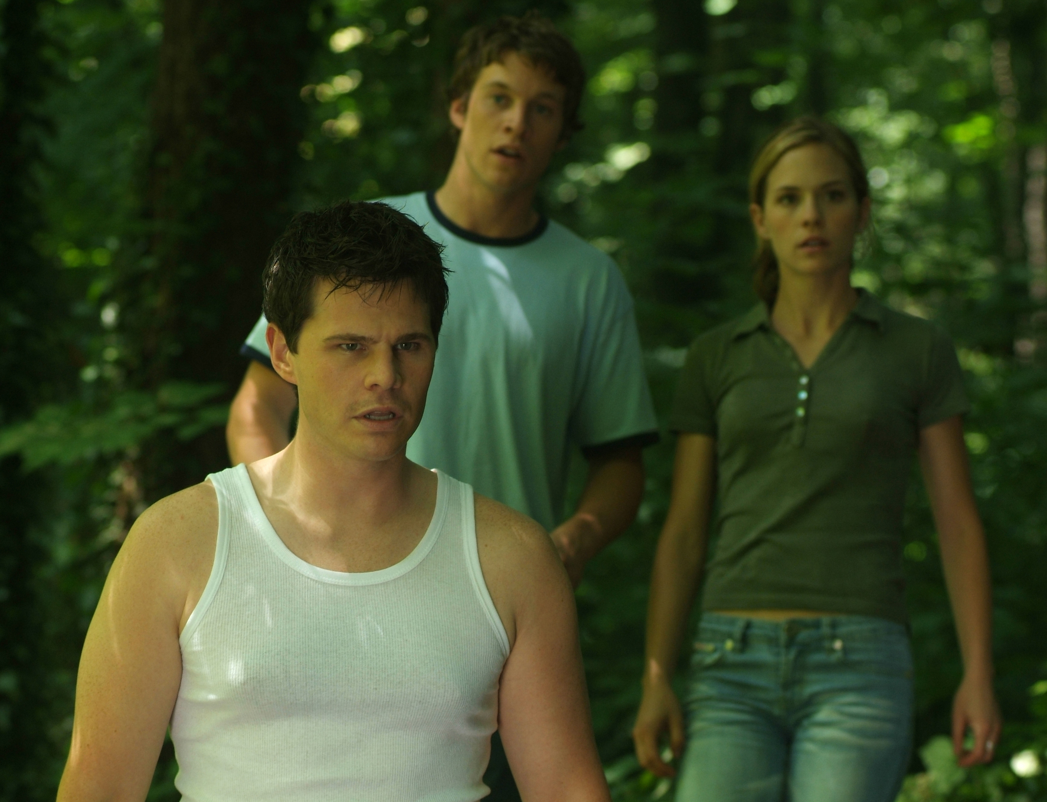 Ian Reed Kesler, Alicia Ziegler, and Chad Michael Collins in Lake Placid 2 (2007)