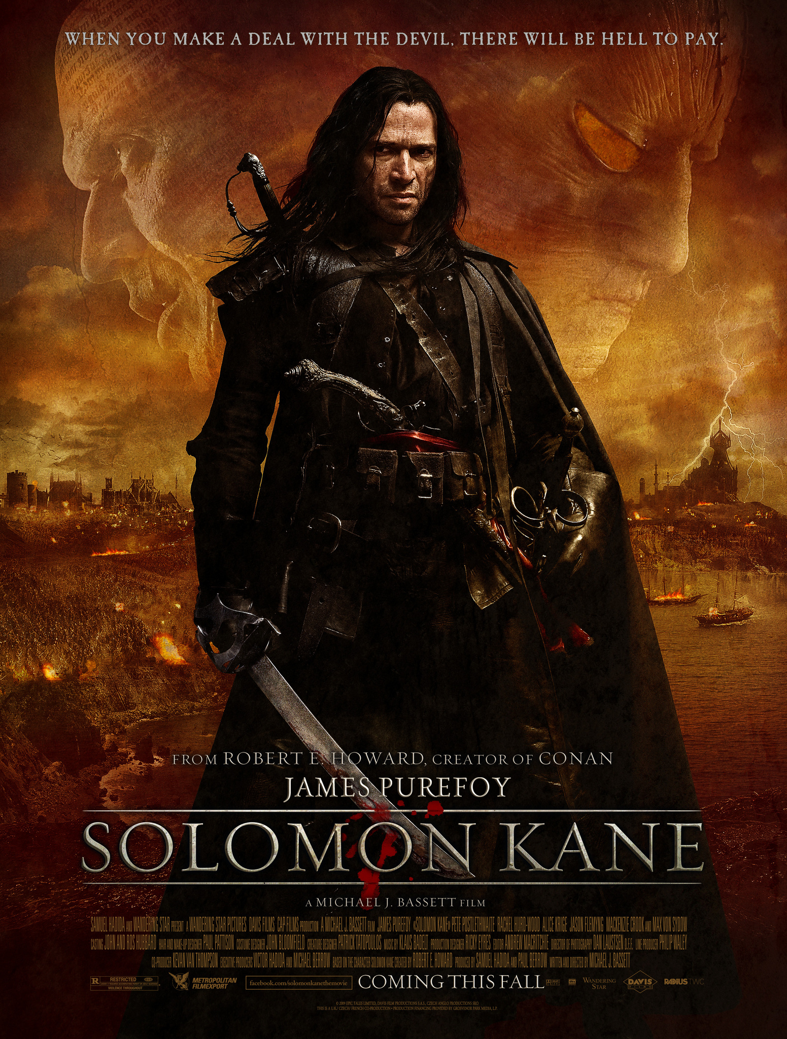 Solomon Kane (2009) BluRay 720p & 1080p