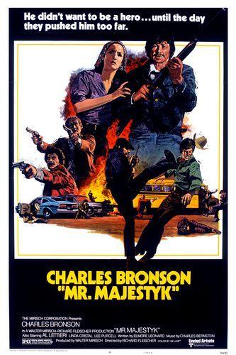 Charles Bronson and Linda Cristal in Mr. Majestyk (1974)