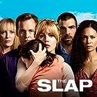 Uma Thurman, Melissa George, Thandiwe Newton, Zachary Quinto, and Peter Sarsgaard in The Slap (2015)