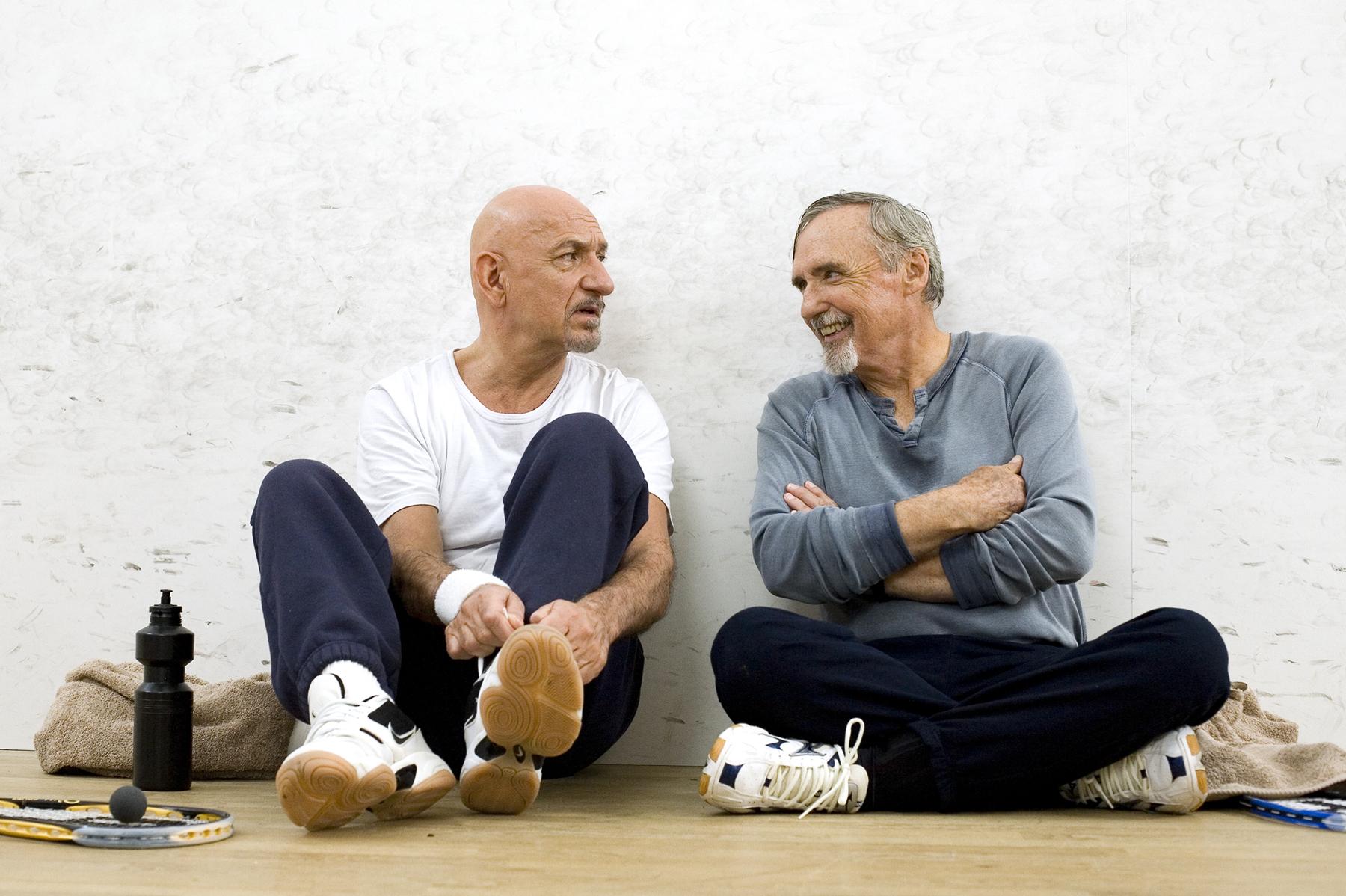 Dennis Hopper and Ben Kingsley in Elegy (2008)