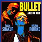 Mickey Rourke and Tupac Shakur in Bullet (1996)