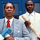 Morgan Freeman and Joe Clark in Lean on Me (1989)