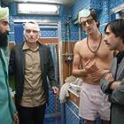 Adrien Brody, Jason Schwartzman, Owen Wilson, and Waris Ahluwalia in The Darjeeling Limited (2007)