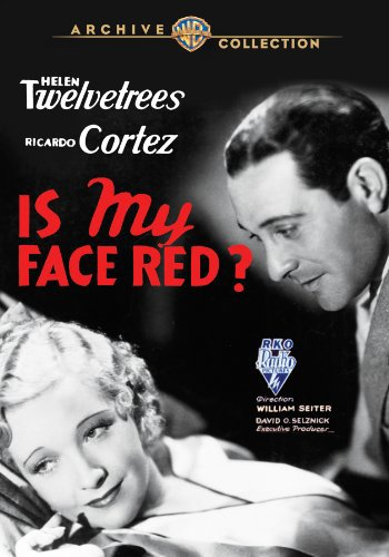 Ricardo Cortez and Helen Twelvetrees in Is My Face Red? (1932)