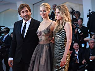 Michelle Pfeiffer, Javier Bardem, and Jennifer Lawrence at an event for Mother! (2017)