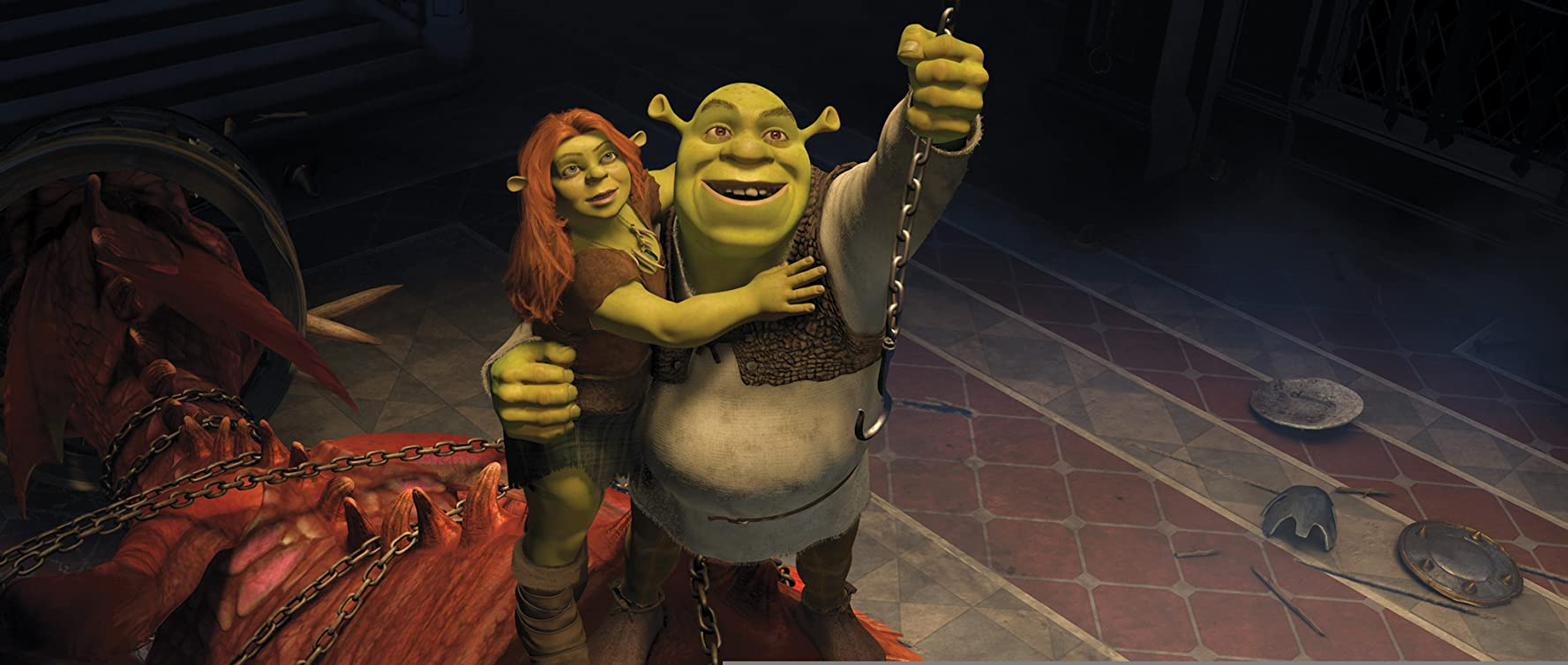 Cameron Diaz and Mike Myers in Shrek Forever After (2010)