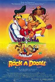 Christopher Plummer, Glen Campbell, Sandy Duncan, Ellen Greene, Phil Harris, and Will Ryan in Rock-A-Doodle (1991)