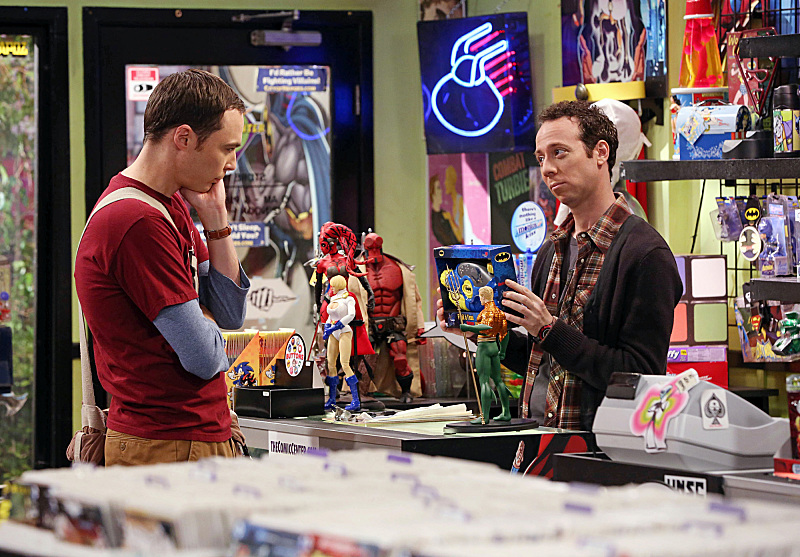 Kevin Sussman and Jim Parsons in The Big Bang Theory (2007)