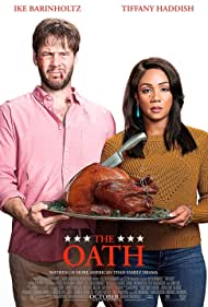 Ike Barinholtz and Tiffany Haddish in The Oath (2018)
