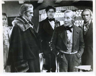 Boris Karloff and George Arliss in The House of Rothschild (1934)