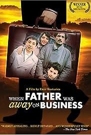 Otac na sluzbenom putu Poster