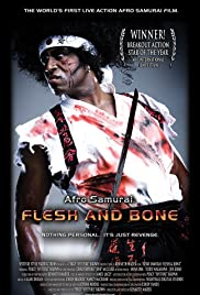 Afro Samurai: Flesh and Bone Poster