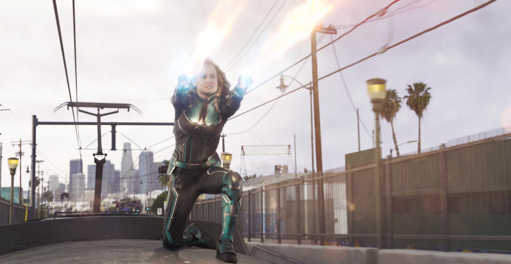 Brie Larson as Vers a.k.a Carol Danvers a.k.a Captain Marvel (2019)