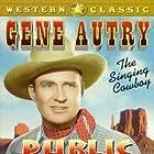 Gene Autry and Smiley Burnette in Public Cowboy No. 1 (1937)