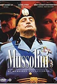 George C. Scott, Gina Bellman, and Gunnar Möller in Mussolini: The Untold Story (1985)