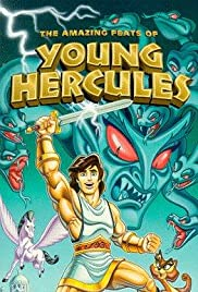 The Amazing Feats of Young Hercules Poster