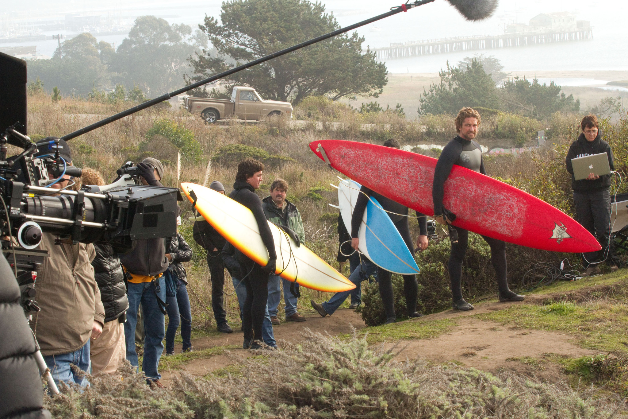 Gerard Butler in Chasing Mavericks (2012)