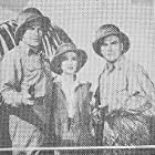 Richard Lane, Ona Munson, and Don Terry in Drums of the Congo (1942)