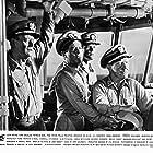 John Wayne, Tod Andrews, Burgess Meredith, and Tom Tryon in In Harm's Way (1965)