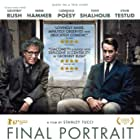 Geoffrey Rush, Clémence Poésy, and Armie Hammer in Final Portrait (2017)