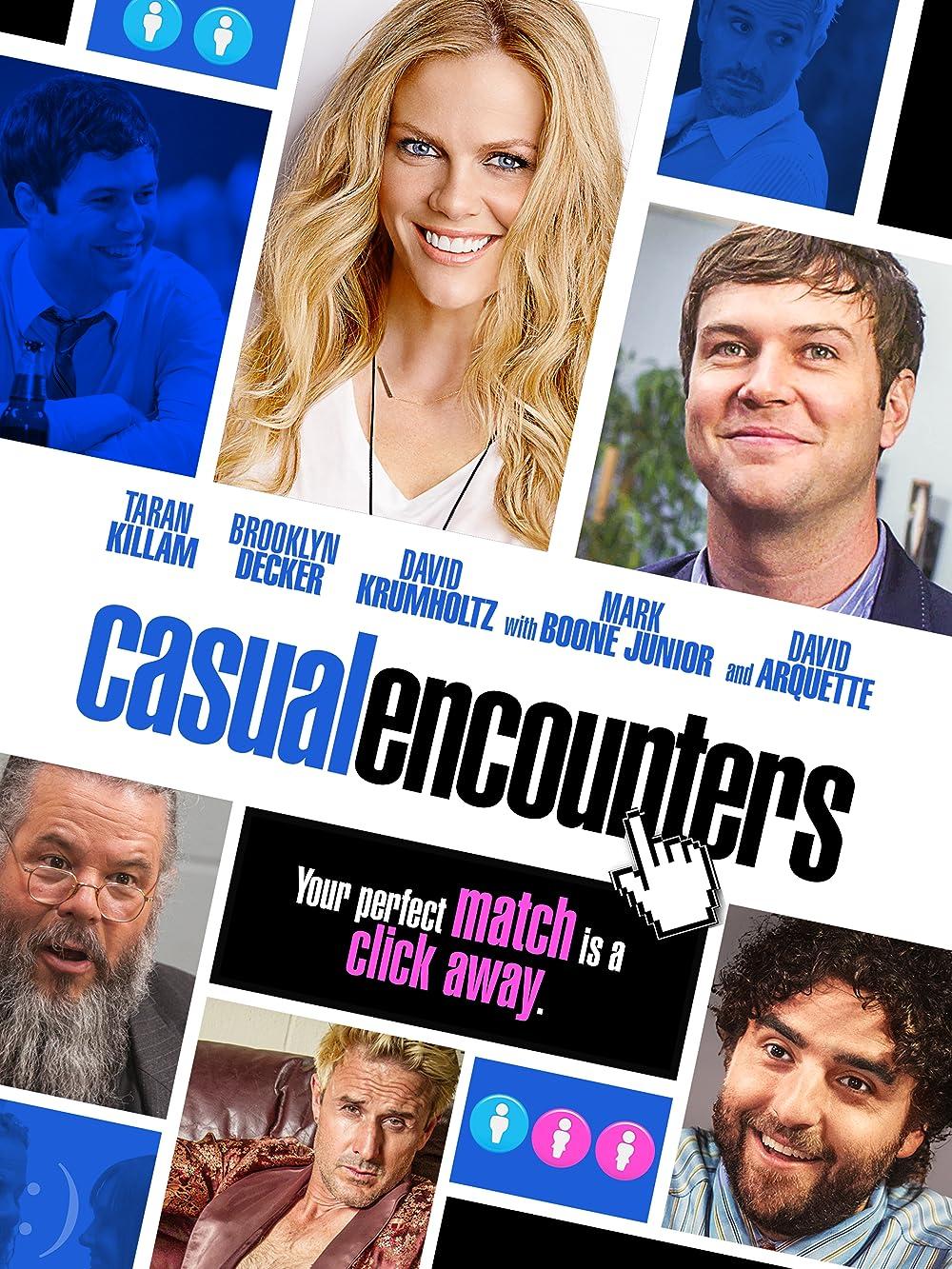 Casual Encounters Poster IMDb & Amazon Image