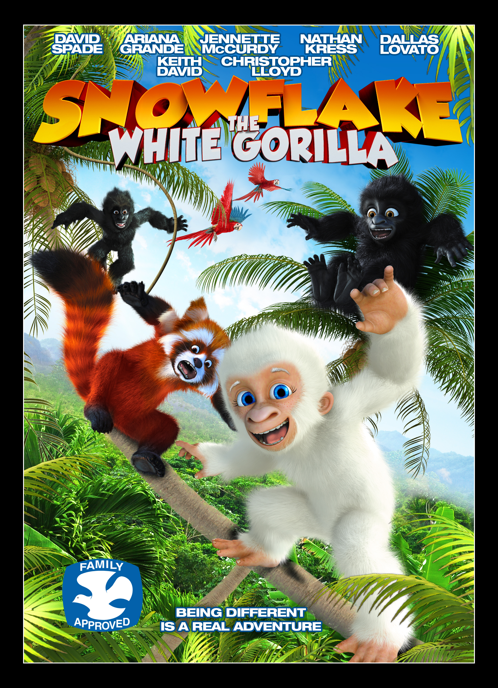 Snowflake, the White Gorilla: Giving the Characters a Voice (Video ...