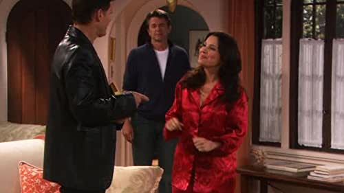 """This new series starring Fran Drescher can best be described as a """"boy meets girl, they marry, he turns out to be gay, they divorce, he can't afford to move out so they still live together"""" kind of story."""