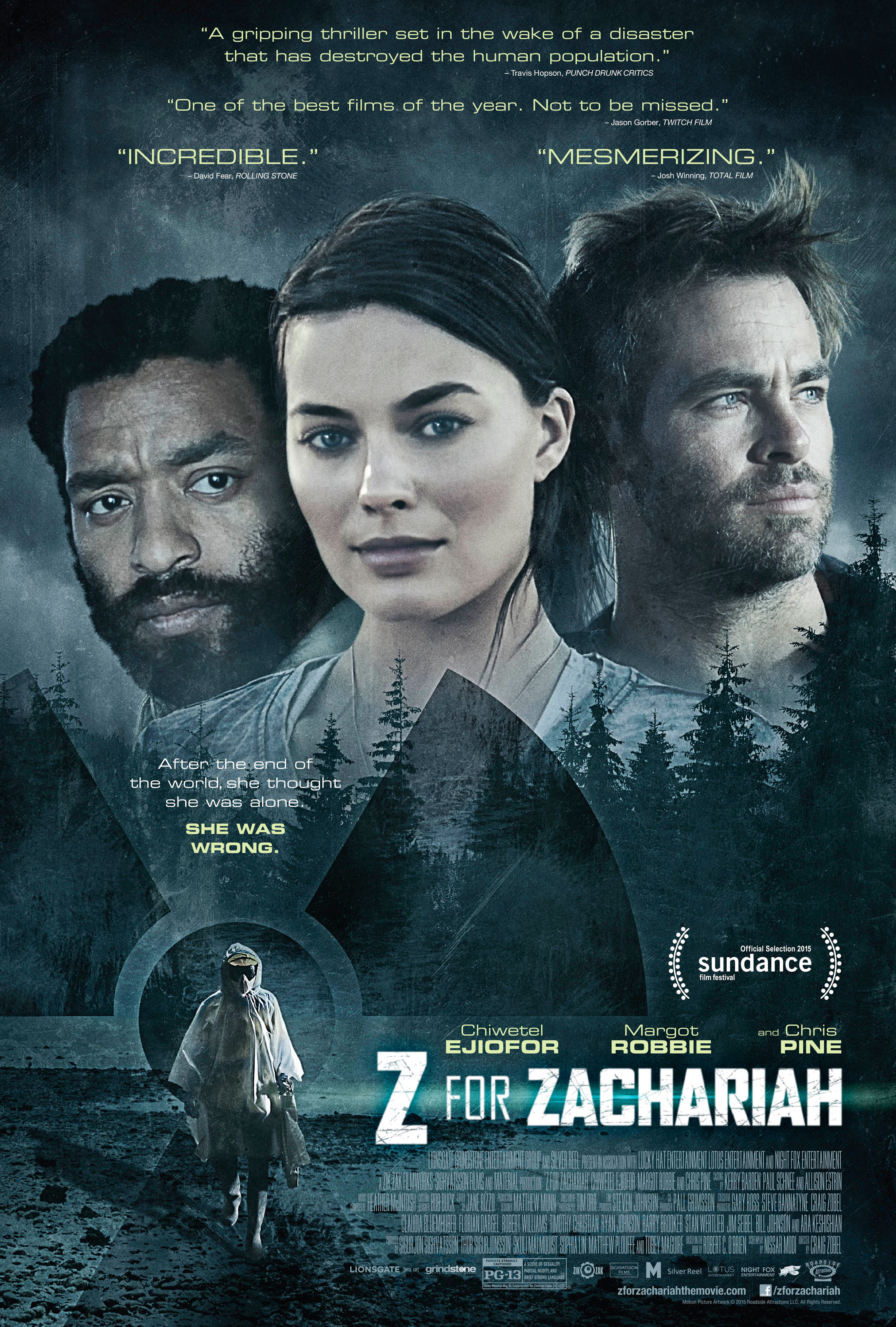 Image result for Z for Zachariah (2015)