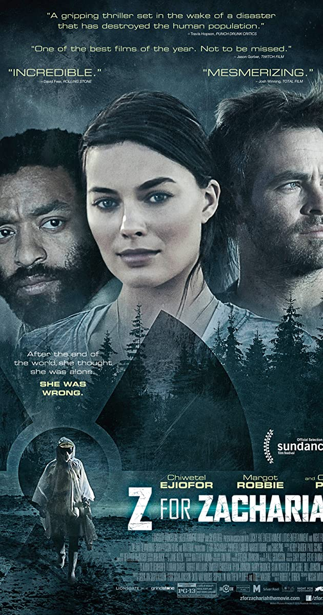 Subtitle of Z for Zachariah