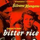 Vittorio Gassman and Silvana Mangano in Riso amaro (1949)