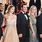 Usher, Edgar Ramírez, Jonathan Jakubowicz, Ana de Armas, and Claudine Jakubowicz at an event for Hands of Stone (2016)