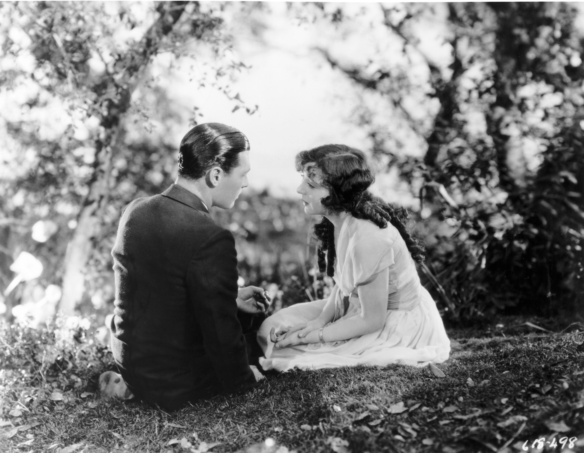 Jobyna Ralston and Charles 'Buddy' Rogers in Wings (1927)