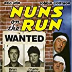 Robbie Coltrane and Eric Idle in Nuns on the Run (1990)