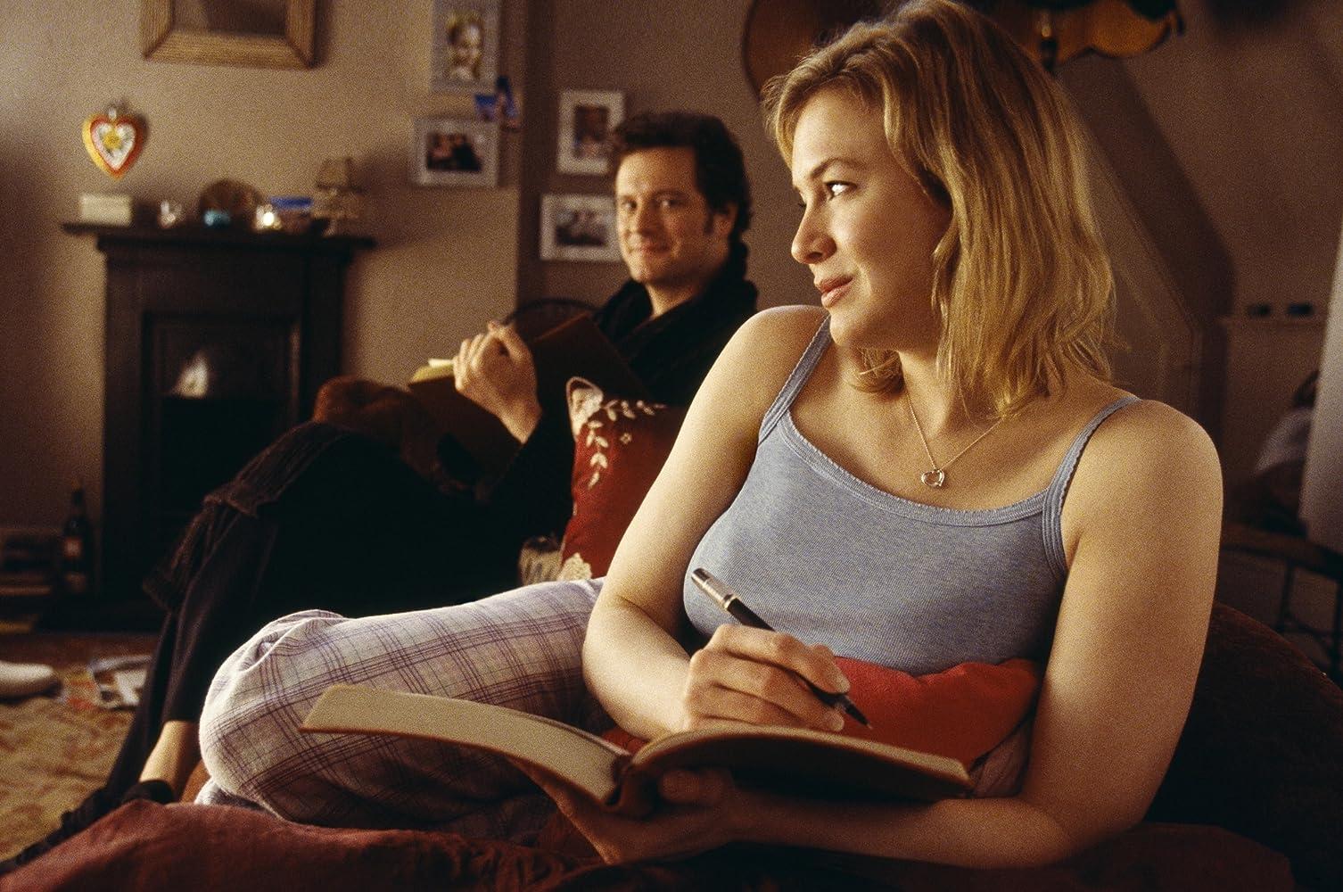 Colin Firth and Renée Zellweger in Bridget Jones: The Edge of Reason (2004)