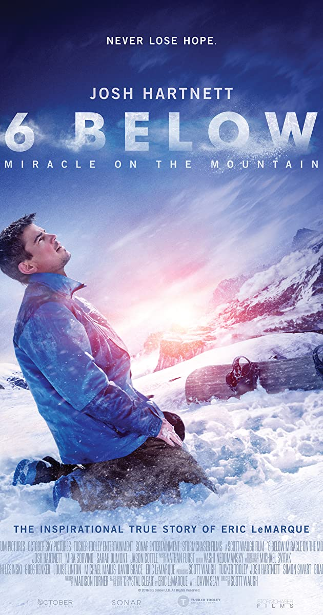 Subtitle of 6 Below: Miracle on the Mountain