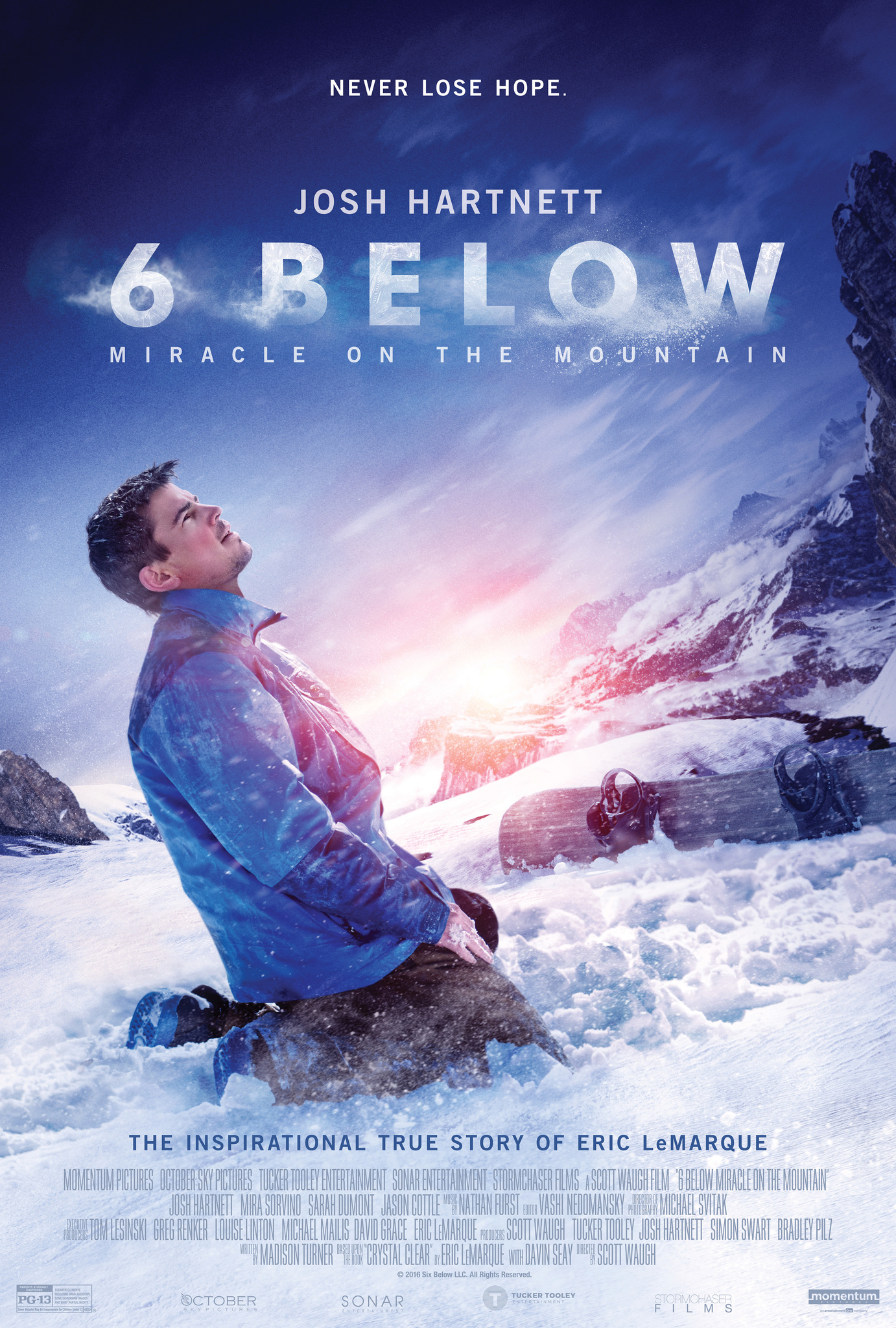 6 Below: Miracle on the Mountain (2017) BluRay 480p, 720p & 1080p