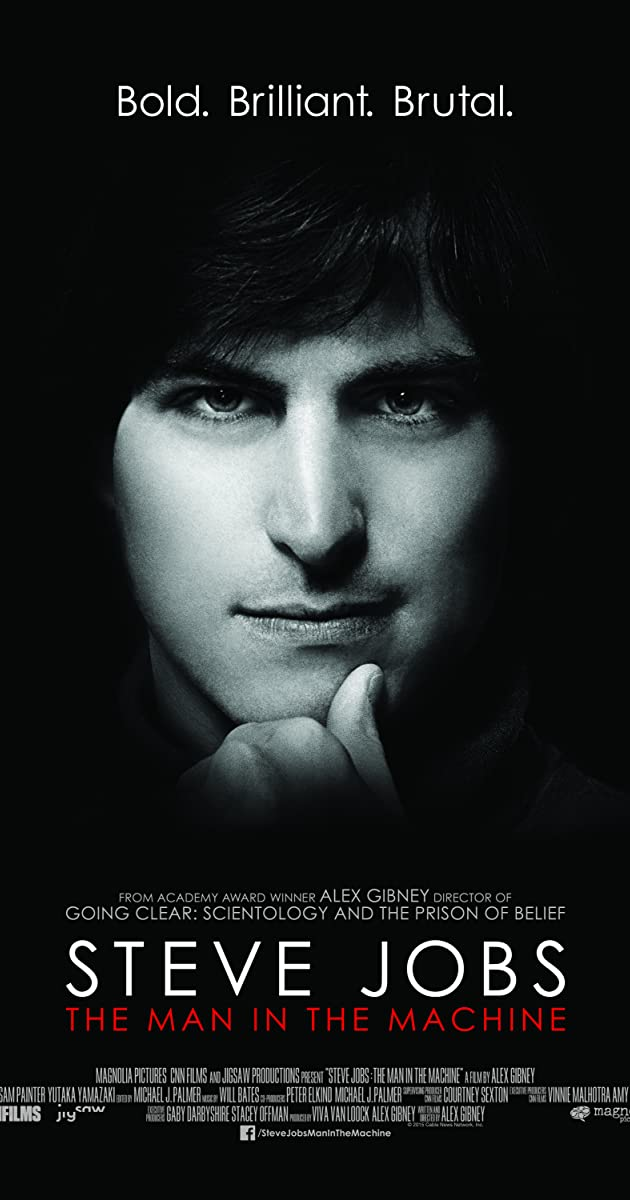 Subtitle of Steve Jobs: The Man in the Machine
