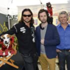 John Hennigan, David Milchard, and Crystal the Monkey in Russell Madness (2015)