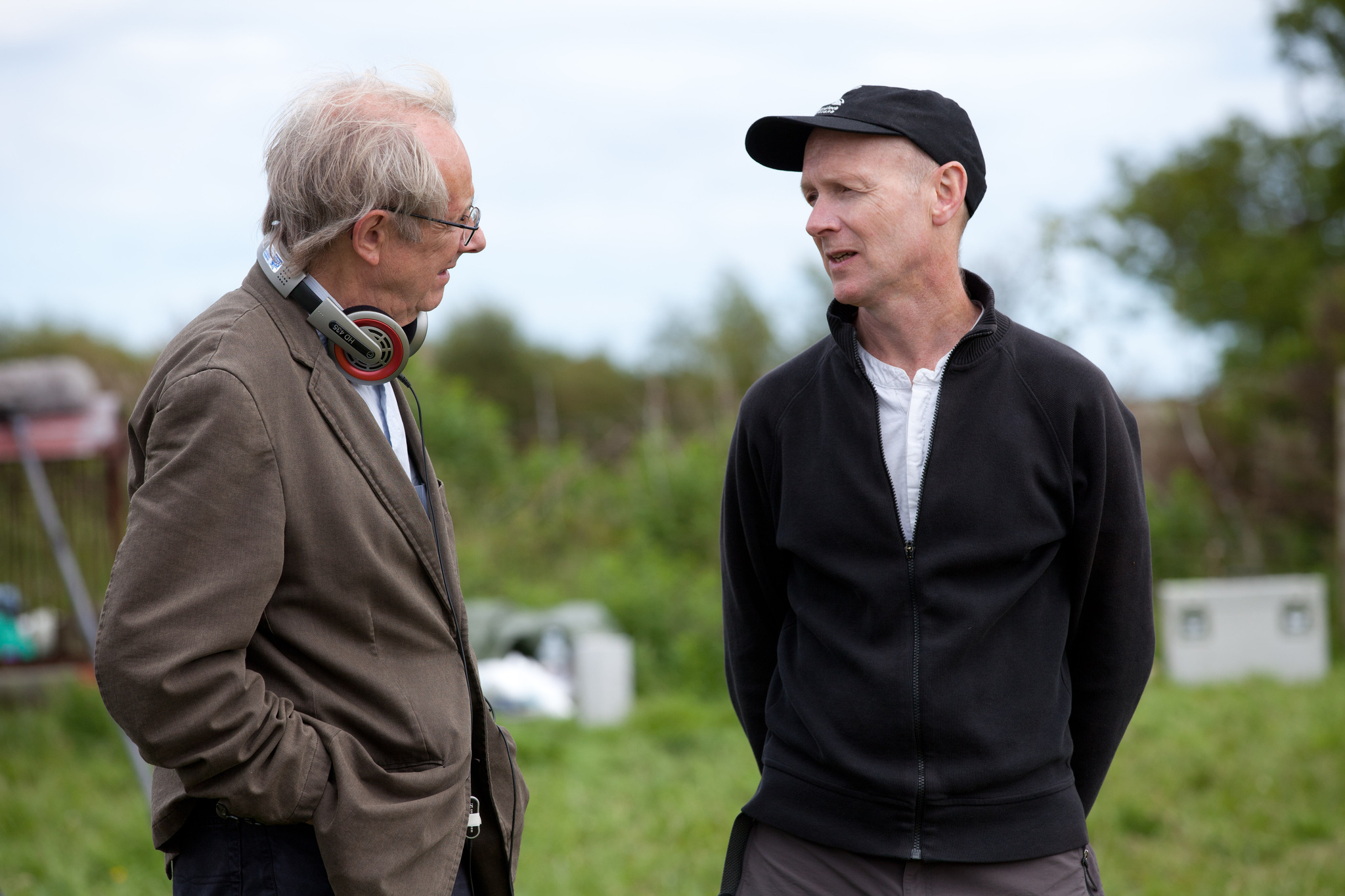 Paul Laverty and Ken Loach in The Angels' Share (2012)