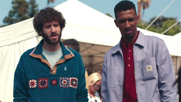 Travis Bennett and Dave Burd in Dave (2020)