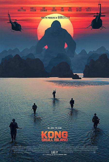 [PG-13] Kong: Skull Island (2017) Dual Audio Blu-Ray - 480P | 720P - x264 - 400MB | 1GB - Download & Watch Online  Movie Poster - mlsbd