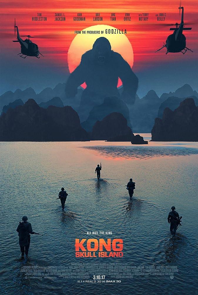 Kongas: kaukolės sala (2017) Online