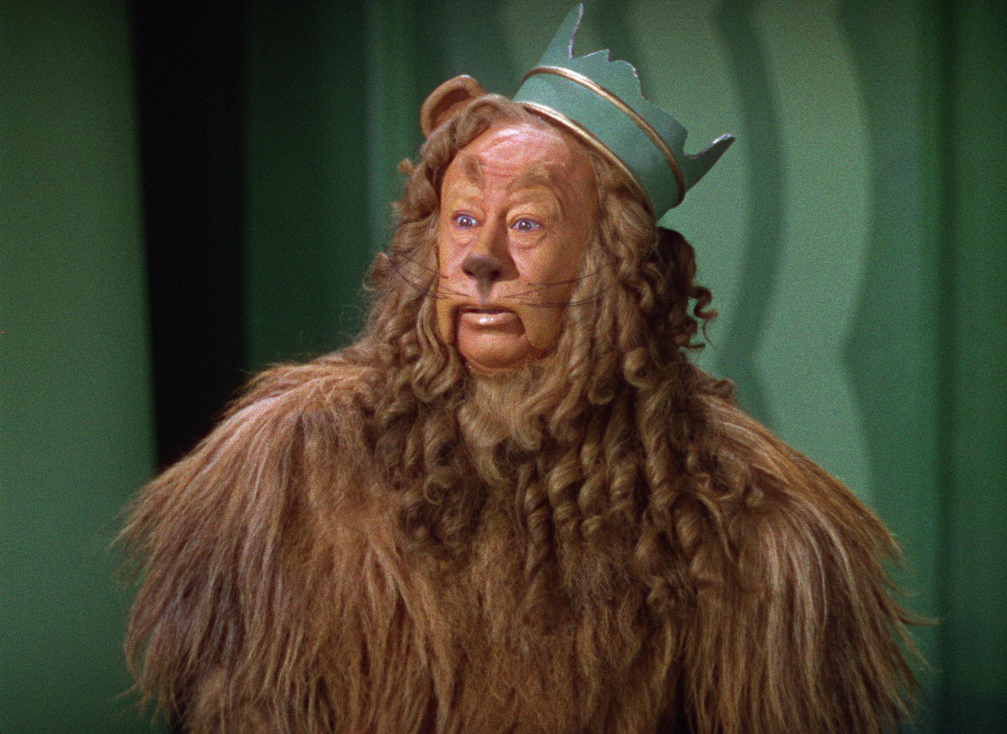Bert Lahr in The Wizard of Oz (1939)